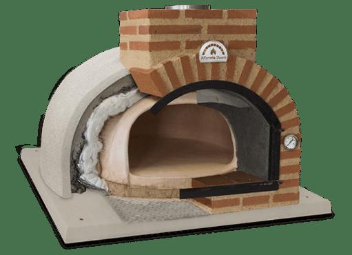 four à pizza finition exterieur en liège
