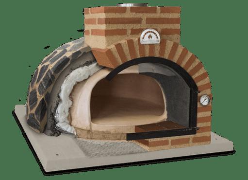 four à pain finition exterieur en pierre